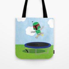 SW Kids - Boba Fett Jump Tote Bag