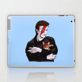 David & The cat Laptop & iPad Skin