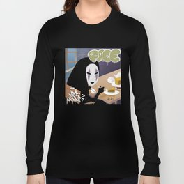 No Face Mm.. Food (MF Doom + Spirited Away) Long Sleeve T-shirt
