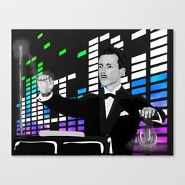 Theremin Ultra Canvas Print