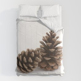 Two pinecones Comforters
