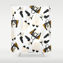 Accessories of the Frow SS18 Shower Curtain