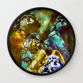 THE ANGELS CALL YOUR NAME Wall Clock
