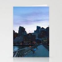 metropolis Stationery Cards featuring Metropolis by Pan Kelvin