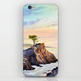 Pebble Beach Lone Cypress Tree iPhone Skin