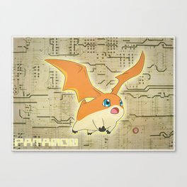 Digimon Adventure - Patamon Canvas Print