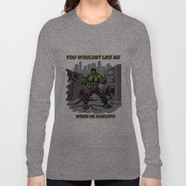 Hangry Hulk Long Sleeve T-shirt