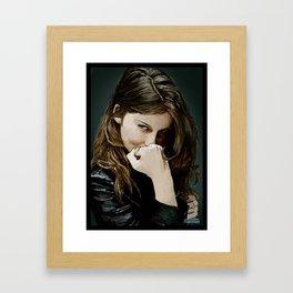 If Looks Could Kill Framed Art Print