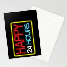 Happy 24 hours Stationery Cards