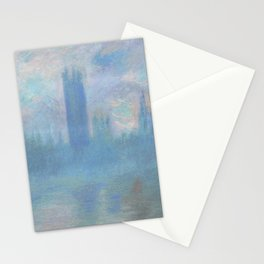 Monet, The Houses of Parliament, London, 1900-1093 Stationery Cards