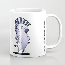 My Digital Zoo - Zebra Coffee Mug