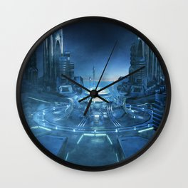 Space City Center - Wall Clock