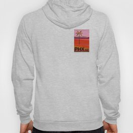 Phoenix Arizona Travel Poster Hoody
