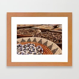 Santa Fe Beads Framed Art Print