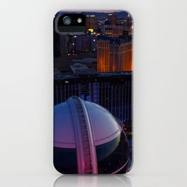 Las Vegas Strip from the Highroller iPhone Case