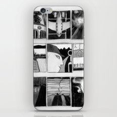 Trucking In Sixteen Directions iPhone & iPod Skin