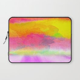 Colorful Watercolor Abstract Laptop Sleeve