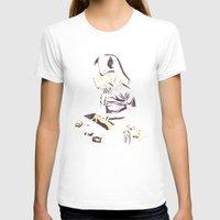 dark side T-shirts featuring Dark Side by yortsiraulo