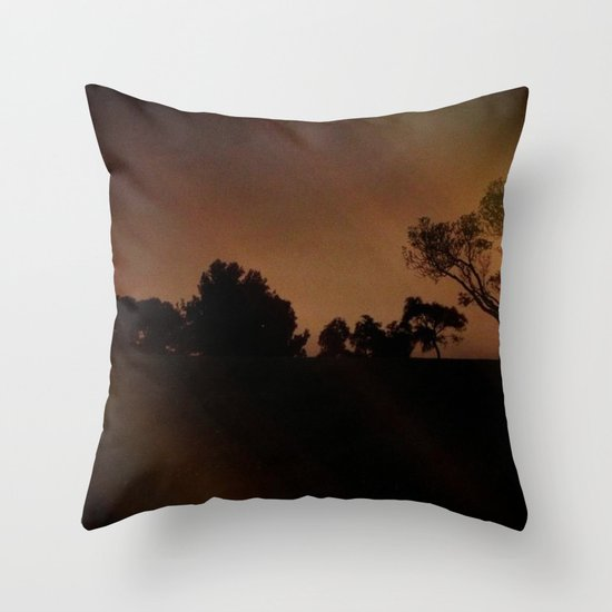 Mysterious Night Throw Pillow
