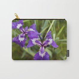 Wild Iris Photography Print Carry-All Pouch