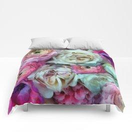 Romantic flowers I Comforters