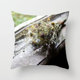 Malou's Bouquet Throw Pillow