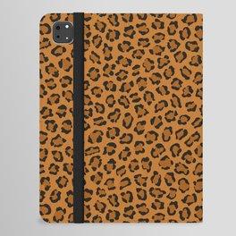 Dark leopard animal print iPad Folio Case