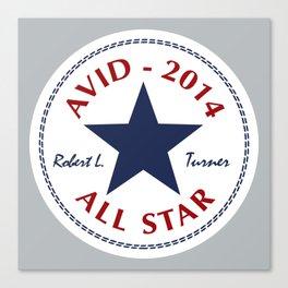 Avid All Star Canvas Print