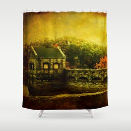 Dam Wall Shower Curtain