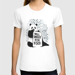 Will sneeze for food T-shirt