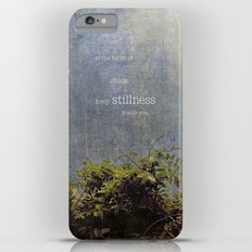 keep stillness inside iPhone 6 Plus Slim Case