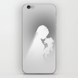 Wedding Day White iPhone Skin
