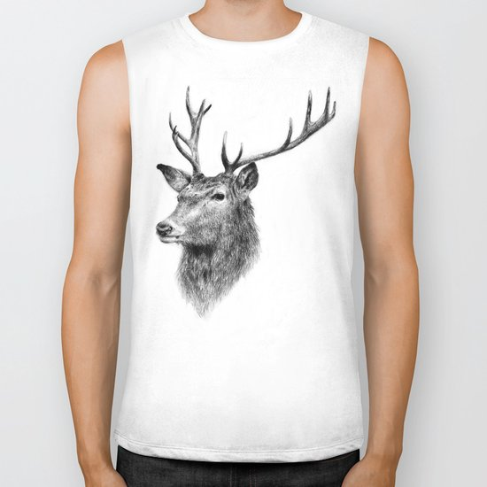 Deer Biker Tank