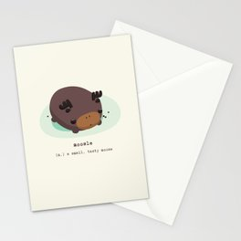 Chocolate Moosle Stationery Cards