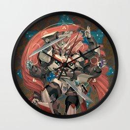 Faithful Blade Wall Clock