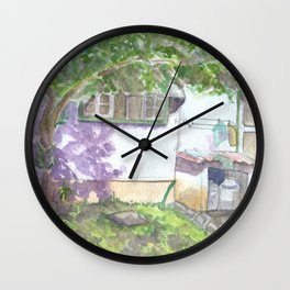 Colonial House 2 Wall Clock