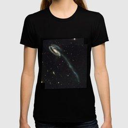 """Tadpole"" Colliding Galaxy Society6 Planet Prints T-shirt"