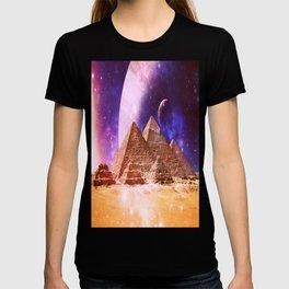 Galaxy Pyramids T-shirt