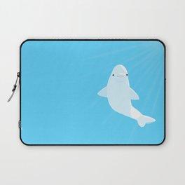 Beluga whale Laptop Sleeve