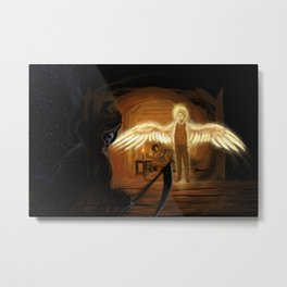 Good Omens: Too Fine a Point Metal Print