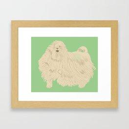 Komondorable Framed Art Print