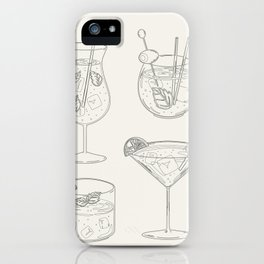 Summer Cocktails 9 iPhone Case