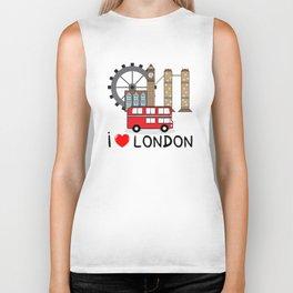 I love London Biker Tank