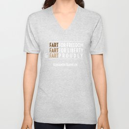 Fart for Freedom Unisex V-Neck