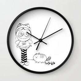 Crazy Doll Wall Clock