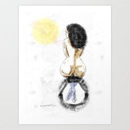 Nude Sunrise Art Print