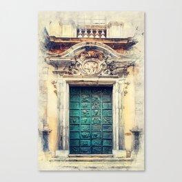 Trapani art 22 Sicily Canvas Print