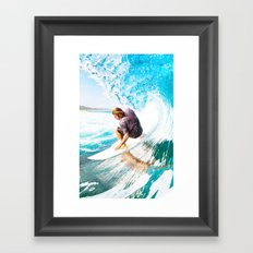 New surf Framed Art Print