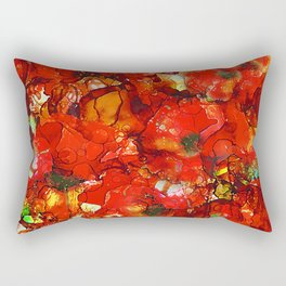 Poppies Rectangular Pillow