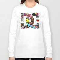 decal Long Sleeve T-shirts featuring Desivo Dc Hand Stickers Bomb Decal Usdm Jdm by arul85